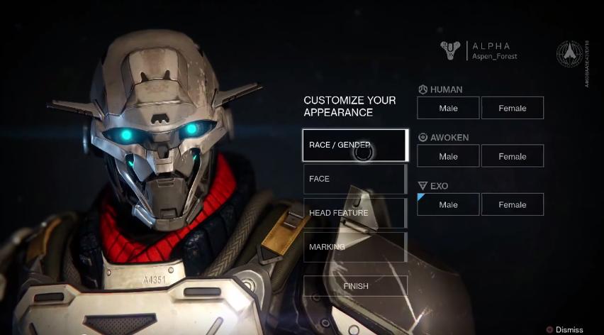 Destiny Character Crea...